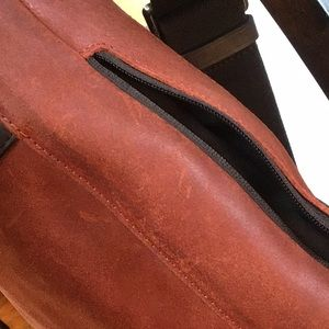 Coach Bags - Coach Camden leather tech bag F71441 dusk/dark